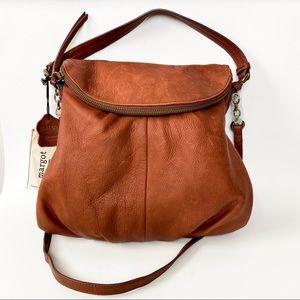 Margot Adelle Hobo Bag in Brandy